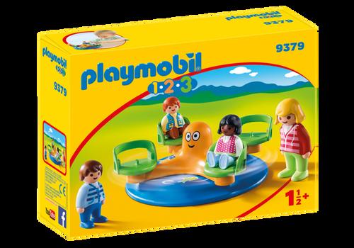 Playmobil 1.2.3 Children's Carousel (9379)