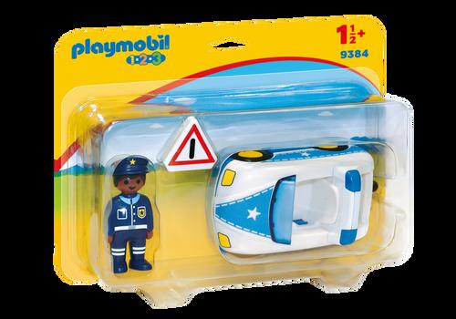 Playmobil 1.2.3 Police Car (9384)