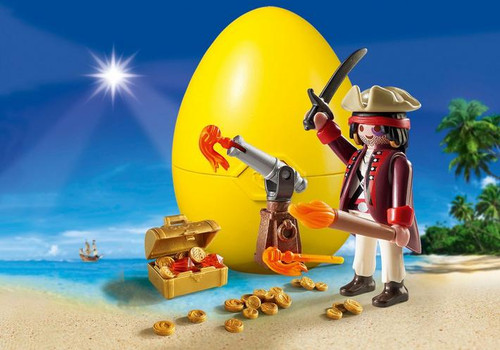 Playmobil Pirate with Cannon Gift Egg (9415)