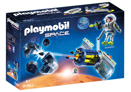 Playmobil Space Satellite Meteoroid Laser (9490)