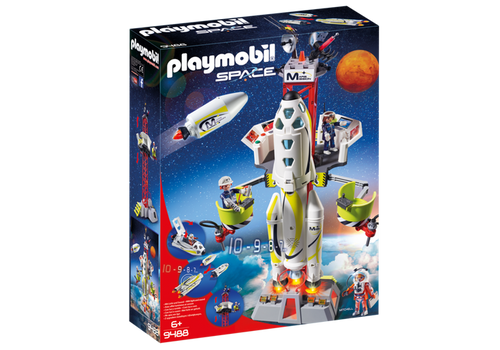 Playmobil Space Mission Rocket with Launch Set (9488)