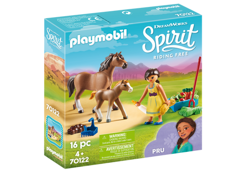 Playmobil Spirit Pru with Horse and Foal (70122)