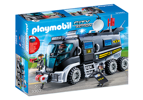 Playmobil Tactical Unit Truck (9360)