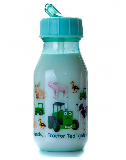 Tractor Ted Water Bottle - Baby Animals