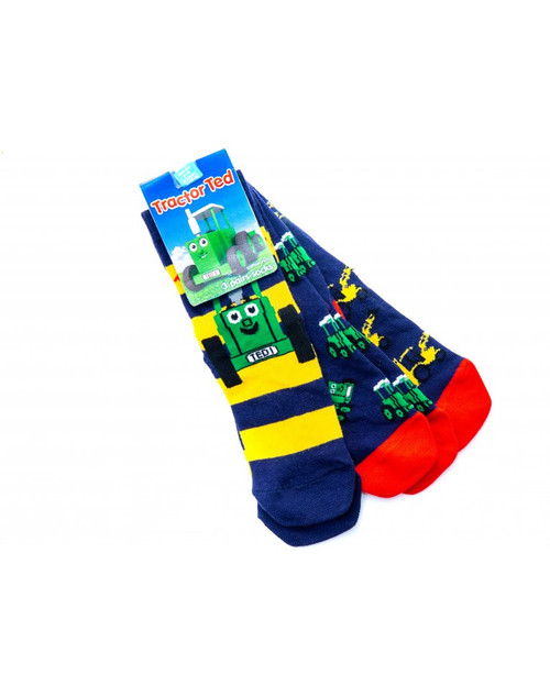 Tractor Ted Digger Socks