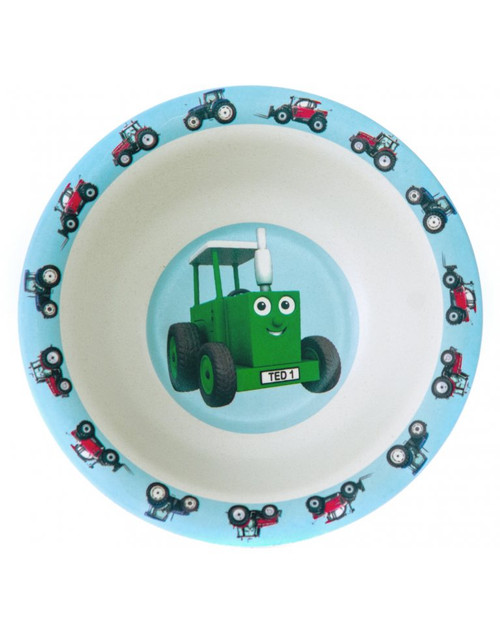 Tractor Ted Bamboo Bowl - Tractors