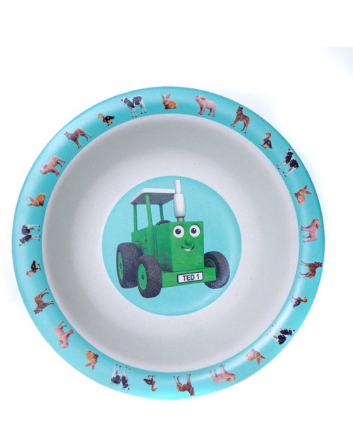 Tractor Ted Bamboo Bowl - Baby Animals