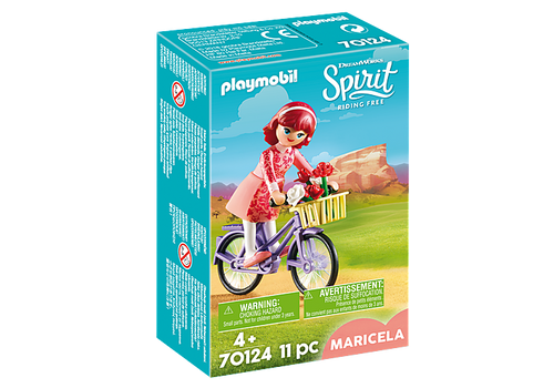 Playmobil Maricela with Bicycle (70124)