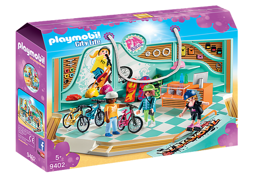 Playmobil Bike and Skate Shop (9402)