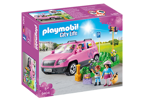 Playmobil Family Car with Parking Space (9404)