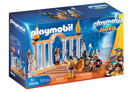 PLAYMOBIL:THE MOVIE Emperor Maximus in the Colosseum (70076)
