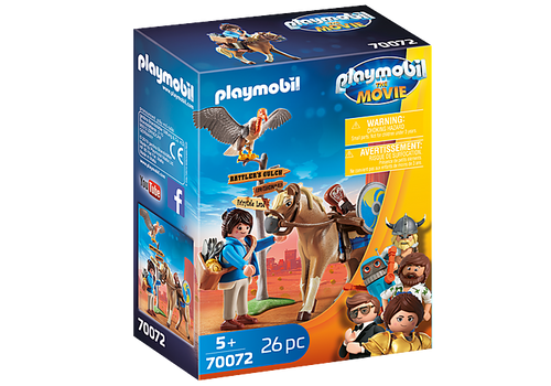 PLAYMOBIL:THE MOVIE Marla with Horse (70072)