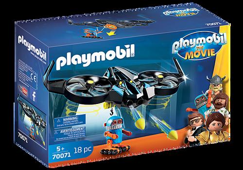 PLAYMOBIL:THE MOVIE Robotitron with Drone (70071)
