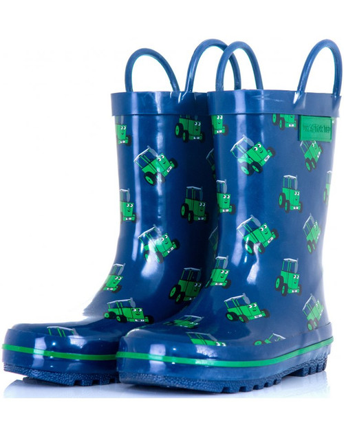 Tractor Ted Welly Boots, Navy