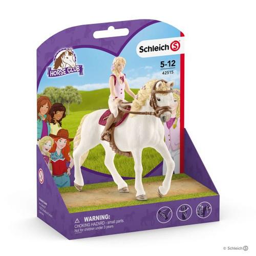 SCHLEICH 42492 Sella /& briglie Horse Club Sarah /& Mystery