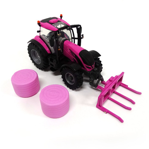 Britains Pink Valtra T254 Play Set (43247)