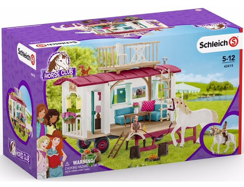 Schleich Horse Club Caravan for Secret Club Meetings (42415)