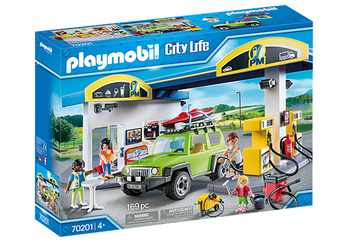 Playmobil City Life Gas Station (70201)