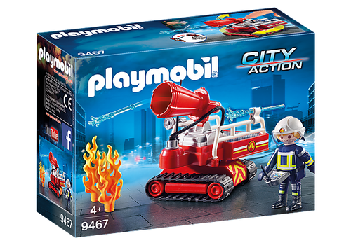 Playmobil City Action Fire Water Canon (9467)