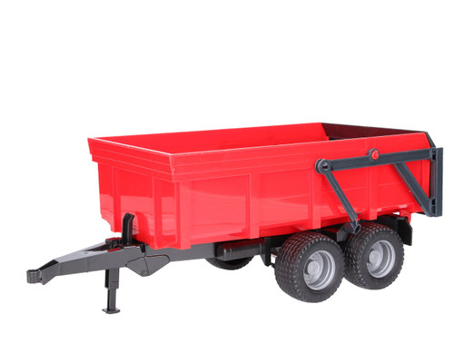 Bruder Red Tipping Trailer with Opening Tailgate (02211)