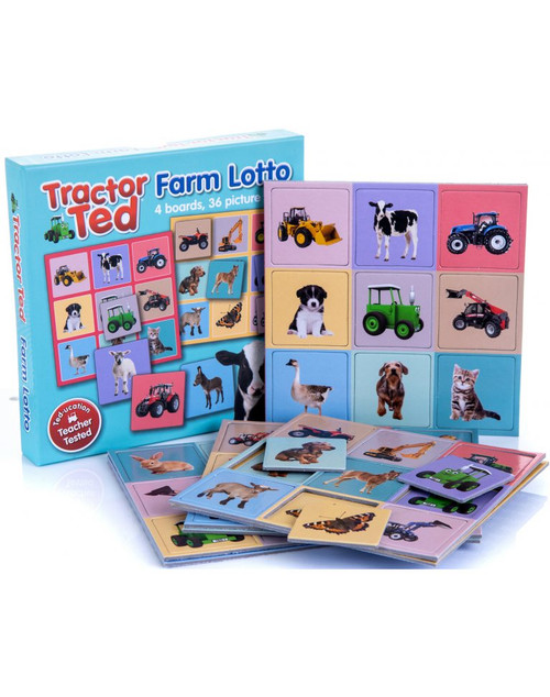 Tractor Ted Farm Lotto Game