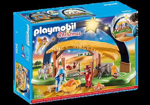 Playmobil Christmas Illuminating Nativity Manger (9494)