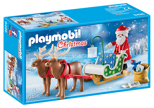Playmobil Christmas Santa's Sleigh with Reindeer (9496)