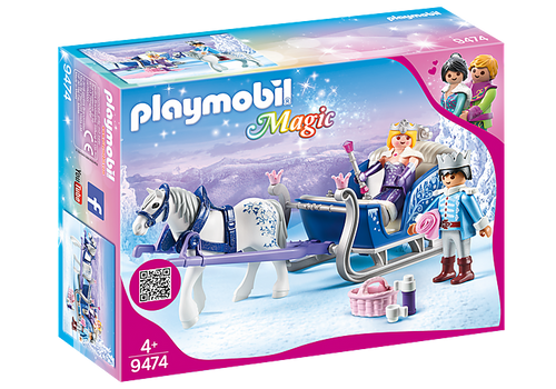 Playmobil Magic Sleigh with Royal Couple (9474)