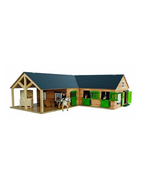Kids Globe 1:24 Scale Horse Stable (0211)