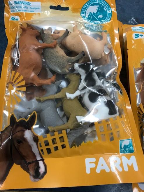 Assorted Farm Animals - 6 piece (T41/2123)