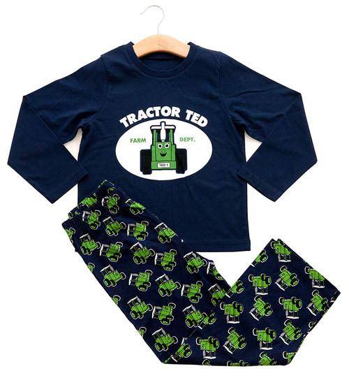 Tractor Ted Navy Long Sleeve Pyjamas