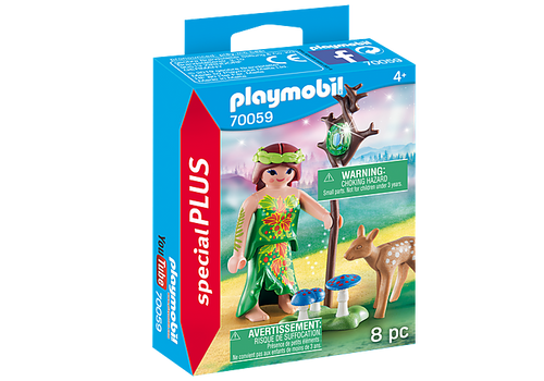Playmobil Special Plus Fairy with Deer (70059)