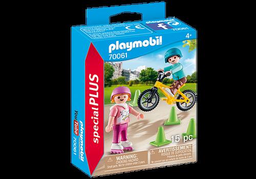 Playmobil 9402 City Life Bike /& Skate Shop with Ramp