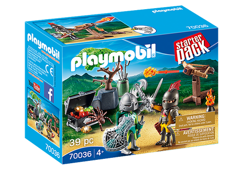 Playmobil Knight's Treasure Battle StarterPack (70036)