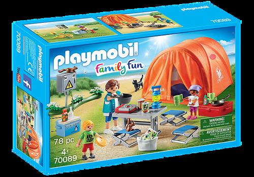 Plamyobil Family Fun Family Camping Trip (70089)