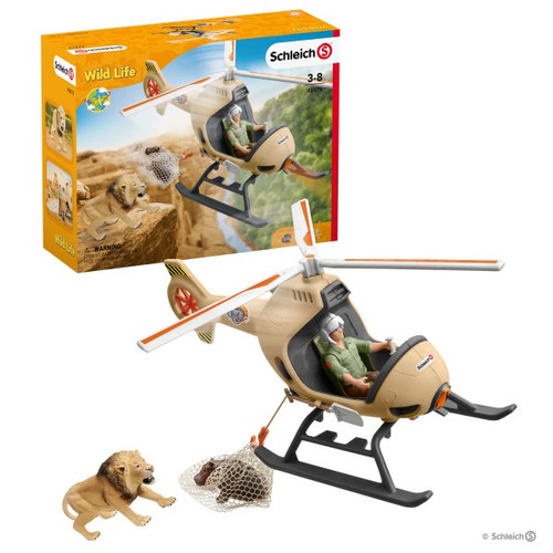 Schleich Animal Rescue Helicopter (42476)
