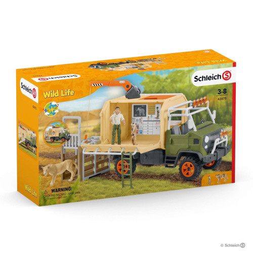 Schleich Animal Rescue Large Truck (42475)