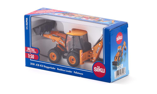 Siku 1:50 JCB 4CX Backhoe Loader (3558)
