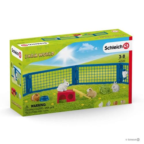 Schleich Rabbit and Guinea Pig Hutch (42500)
