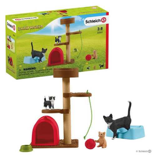 Schleich Playtime for Cute Cats (42501)