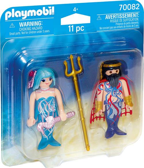 Playmobil Duo Pack Sea King and Mermaid (70082)