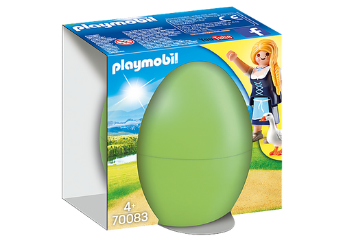 Playmobil Maiden with Geese Gift Egg (70083)