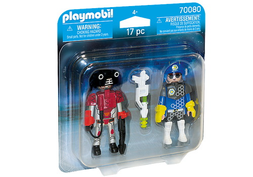 Playmobil Space Police Officer and Thief (70080)