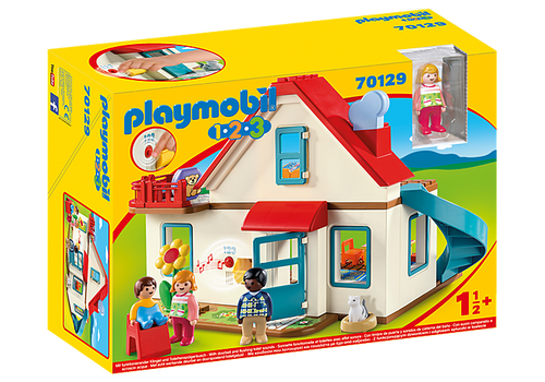 Playmobil 1.2.3 Family Home (70129)