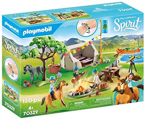 Playmobil Spirit III Summer Campground (70329)