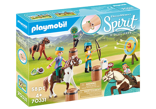 Playmobil Spirit III Outdoor Adventure (70331)