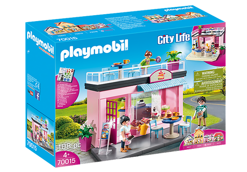 Playmobil City Life - My Cafe Playset (70015)