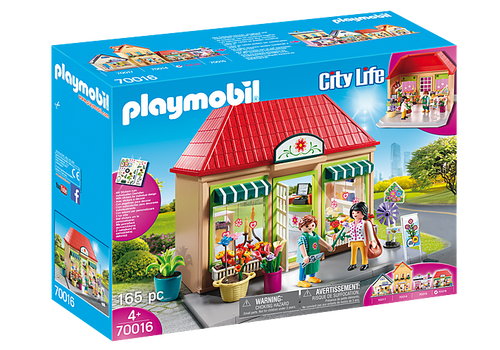 Playmobil City Life - My Flowershop Playset (70016)