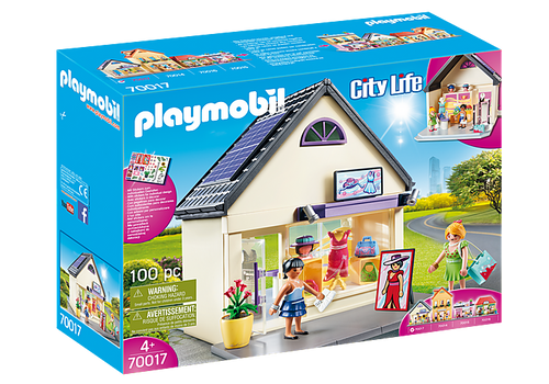 Playmobil City Life - 'My Fashion Boutique' (70017)