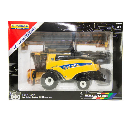 Britains New Holland Combine CR9.90 45th Anniversary Model (43270)